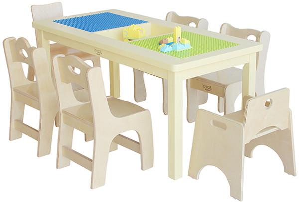 多功能积木桌