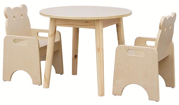厂家直销幼儿园圆桌椅