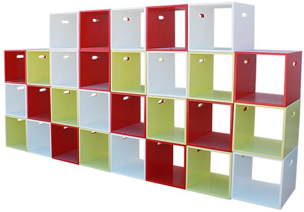 儿童实木书架置物柜收纳柜作品展示柜定制
