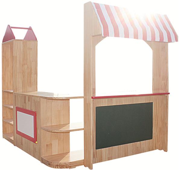 幼儿园区角玩具柜