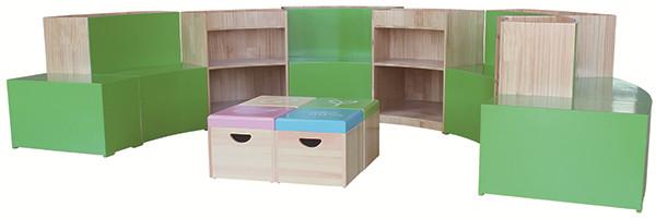 图书收纳柜创意书架
