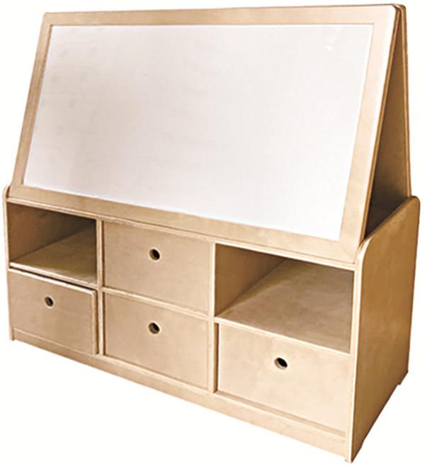 儿童实木柜子白板柜定制
