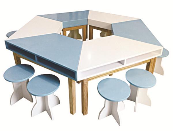 儿童拼接组合学习桌游戏桌